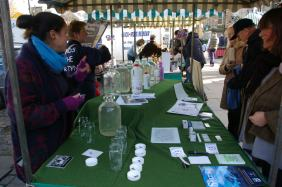 The Watering Hole - a water health stall based at Haddington Farmers Market